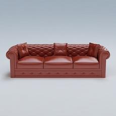 Sofa 02 3D Model