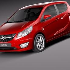 Opel Karl 2016 3D Model