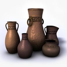 Ancient vases vol.4 3D Model