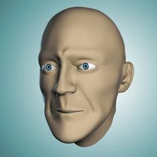 Head Base Mesh 3D Model