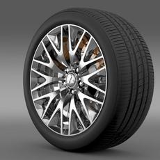 Mitsubishi Dignity wheel 3D Model