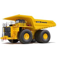Heavy Dump Truck Komatsu 930e 3D Model