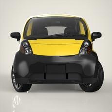Electronic Car 3D Model