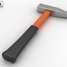 Engineer's Hammer 3D Model