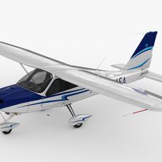 Tecnam P2010 3D Model