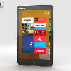 Lenovo Miix 2 (8 inch) Tablet 3D Model