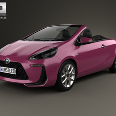 Toyota Aqua Air 2013 3D Model