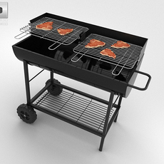 Barbecue Grill 3D Model