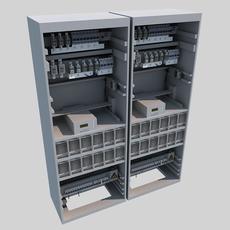 Telecom Power System 3D Model
