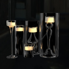 Candle realistic 3D Model