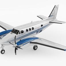 Beechcraft King Air c90gtx 3D Model