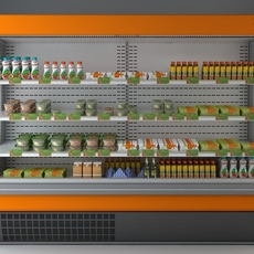 Refrigerated Display Case 2 3D Model