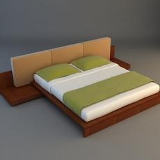 Bed 5 3D Model