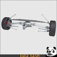 Suspension 01 3D Model