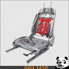 Seat assy 3D Model