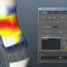 Skin Tools for Maya 2.7.7 (maya script)
