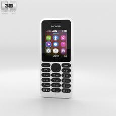 Nokia 130 White 3D Model