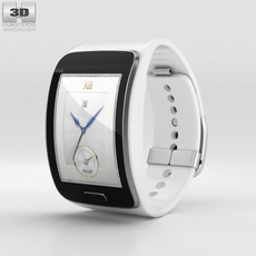 Samsung Gear S White 3D Model