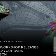 THE GNOMON WORKSHOP RELEASES two new UV Layout dvds by kevin hudson