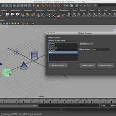 Maya, Mel, QT and You - Interfacing with the QT Designer