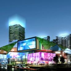 Commercial Plaza 049 3D Model