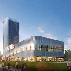 Skyscraper business center 064 3D Model