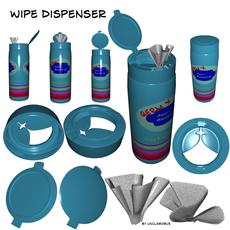Wipe Dispenser 3D Model