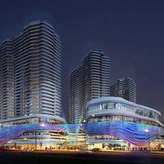 Skyscraper business center 072 3D Model