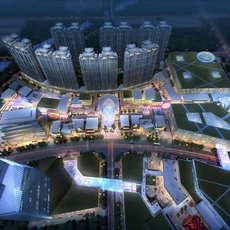 Skyscraper business center 073 3D Model