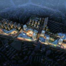 Skyscraper business center 088 3D Model
