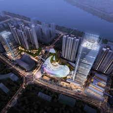 Skyscraper business center 089 3D Model