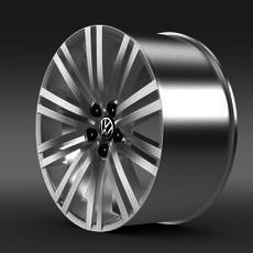 Volkswagen Polo BlueGT rim 3D Model