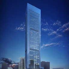 Skyscraper Office Building 040 3D Model
