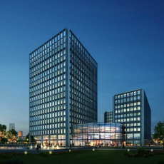 Skyscraper Office Building 054 3D Model
