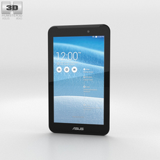 Asus Fonepad 7 (FE170CG) White 3D Model