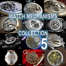Watch mechanisms coll 5 3D Model