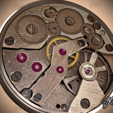 Watch mechanism 12 3D Model