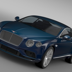 Bentley Continental GT V8 2015 3D Model