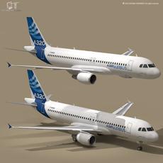 A320-200 airbus 3D Model