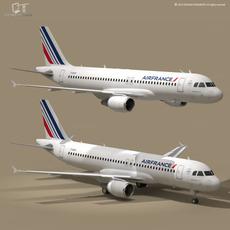 A320-200 air france 3D Model