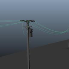 Lunar Animation - Hanging Wire Generator for Maya 0.1.0 (maya script)
