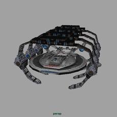 Star Fleet Construction Bay 3D Model