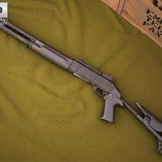 Benelli M4 3D Model