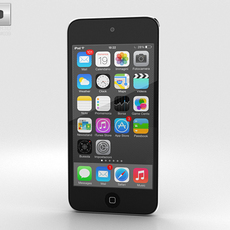 Apple iPod Touch Grey 3D Model