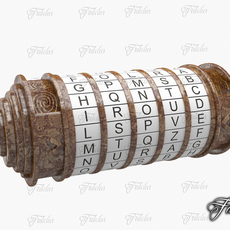 Cryptex Rusty 3D Model