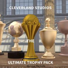 29 Free 3D Trophy Models in OBJ & FBX Formats 3D Model