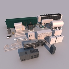 Industrial Equipment 3D Model