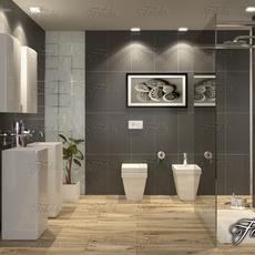 Bathroom 65 3D Model