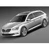 Skoda Superb Kombi 2016 3D Model