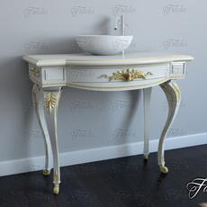 Bathroom cabinet 01 3D Model